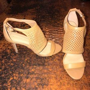 Banana Republic Woven Strappy Heel Sandals - 8